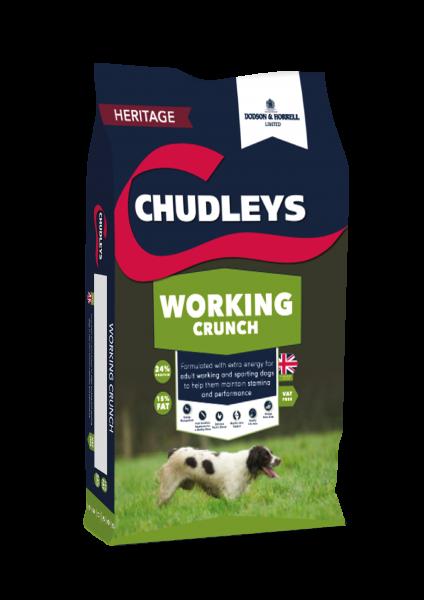 Chudleys Working Crunch bag