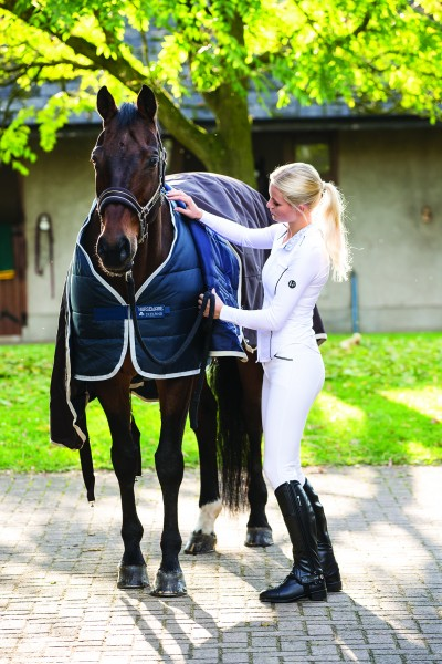 Unterdecke Horseware Liner mit Vari-Layer Medium