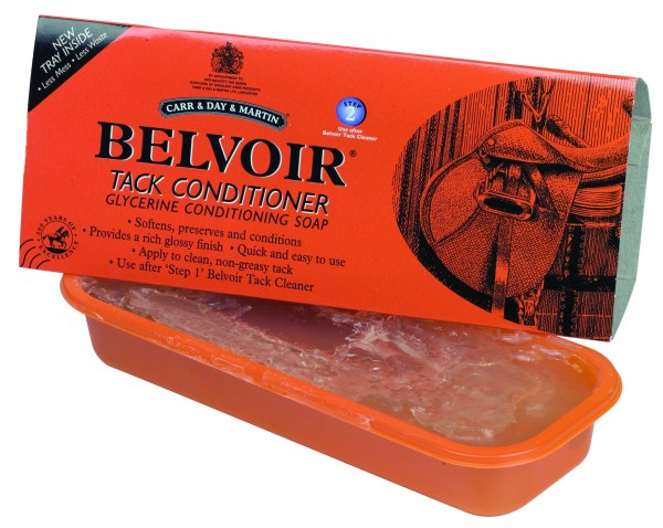 Carr & Day & Martin Sattelseife Belvoir Tack Conditioner Tray Detail