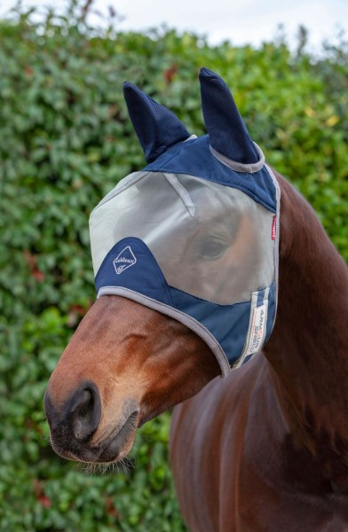 Fliegenmaske Armour Shield Fly Protector Half Mask