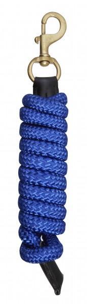 Führstrick mit Lederdetails benetton blue