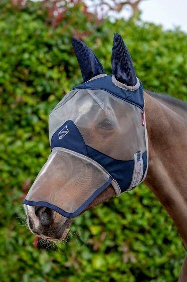 Fliegenmaske Armour Shield Fly Protector Full Mask
