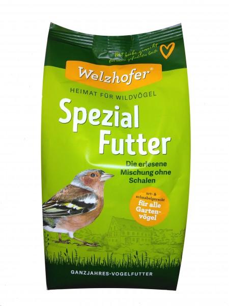 Spezial Futter für Vögel