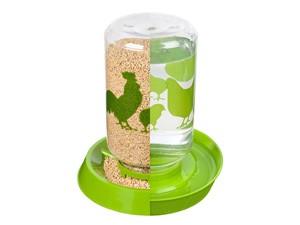 Futter- und Wasserbehälter für Hühner