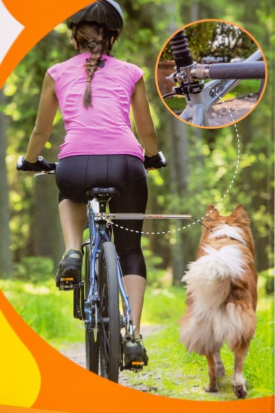 Fahrradstange Walky Dog