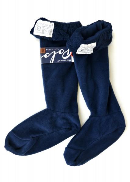 Socken Navy Welly Cosy