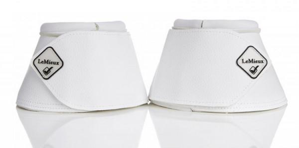 Hufglocken Leder White