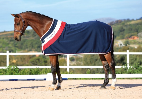 Abschwitzdecke Rambo Fashion Cooler Navy, red & White